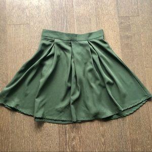💎 NEW Olive Green Mini Skirt | Size XS-S
